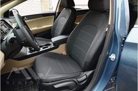 Чехлы для Hyundai Sonata LF c 2016