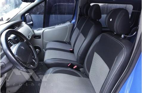 Чехлы для Opel Vivaro c 2002 ( Перед 1+2 )