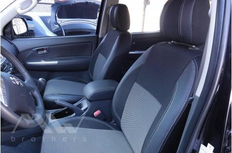 Чехлы для Toyota Hilux c 2005