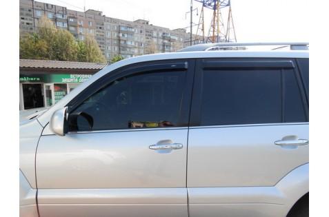 Ветровики для Toyota Land Cruiser Prado 120 c 2003