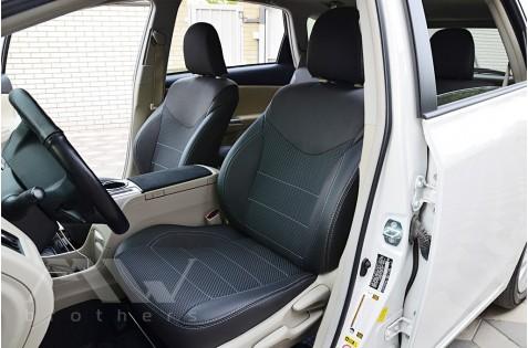 Чехлы для Toyota Prius +(V) c 2011