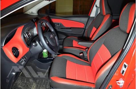 Чехлы для Toyota Yaris c 2012