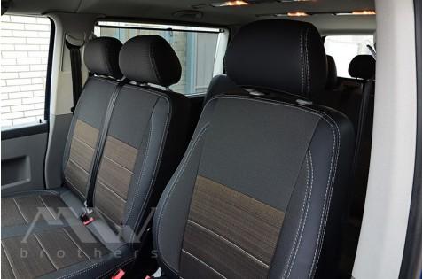 Чехлы для Volkswagen T 6 c 2011(Пассажир 9 мест)